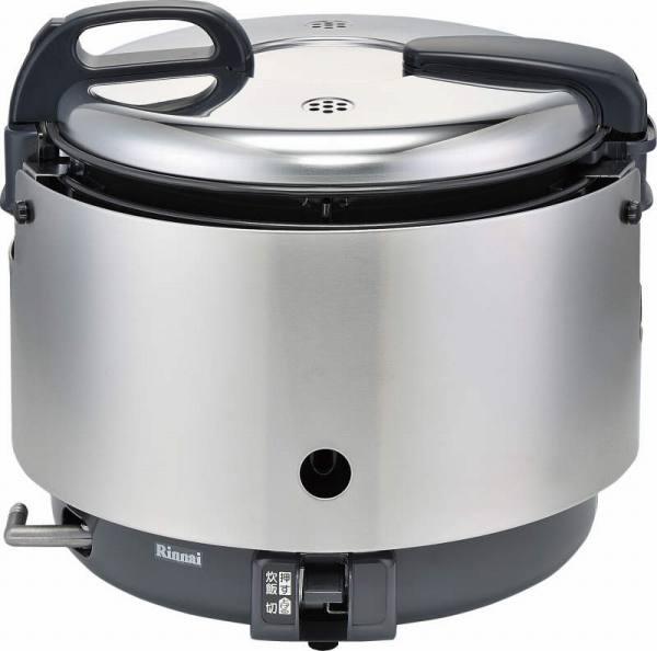 リンナイ業務用ガス炊飯器【涼厨】 1.5升炊(ジャー付)【RR-S15VNS】