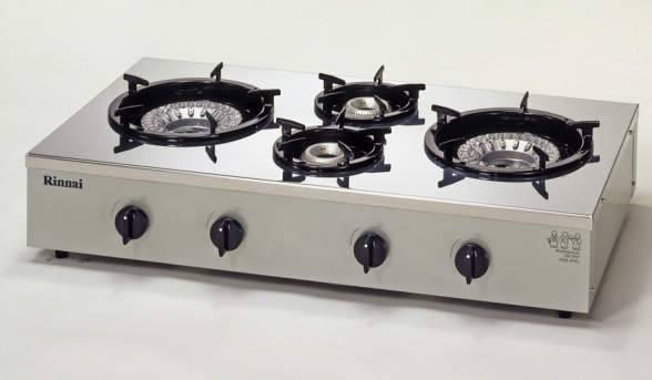リンナイ業務用ガステーブルコンロ 4口 RSB-4PRJ プロパンガス用