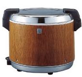 タイガー魔法瓶電子保温ジャー(保温専用) 3升(5.4L) 外装 木目【JHA-5400-MO】