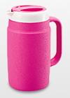 冷たさ長持ち 最新 氷を入れても結露なし タイガー魔法瓶保冷ピッチャー いよいよ人気ブランド 断熱材使用 PPB-A170-V ラズベリー カラー 1.7L