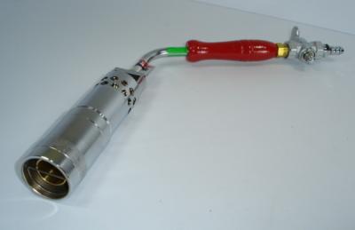 ライジンハンドトーチバーナー 低圧(ゴムホース接続)タイプ 炎口45mm【RHTB45】 トーチバーナー