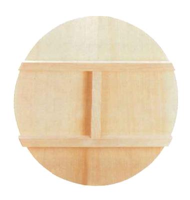 アルミ鋳物平釜用木蓋 60cm(ALHG63用)【HGFH60】