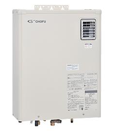 長府*CHOFU* KIBF-4764DKA 石油給湯器 水道直圧式 給湯+強制追いだき オート 屋外設置型 壁掛け