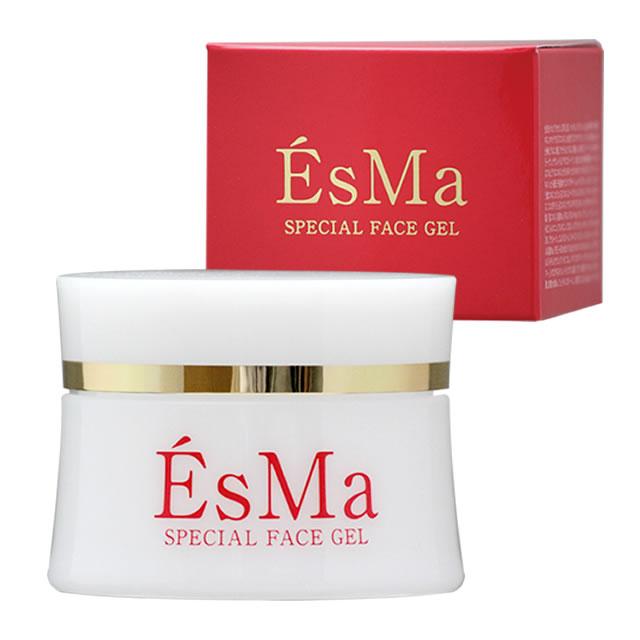 【2個セット・送料無料】EsMa SPECIAL FACE GEL 50g プロテオグリカン、サーモン・プラセンタ、フコイダンの保湿オールインワンジェル 美容液 化粧水 乳液 マリン成分たっぷりの化粧品でスキンケア