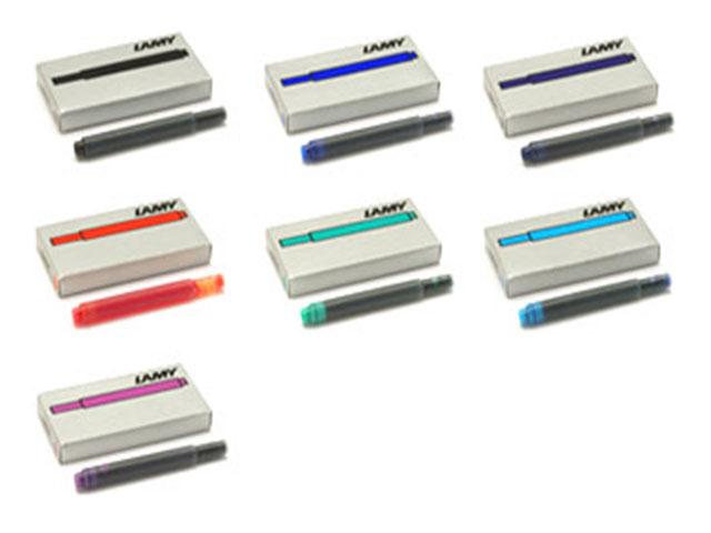 LAMY 日本正規代理店品 ラミー LT10 お得セット カートリッジインク 5本入