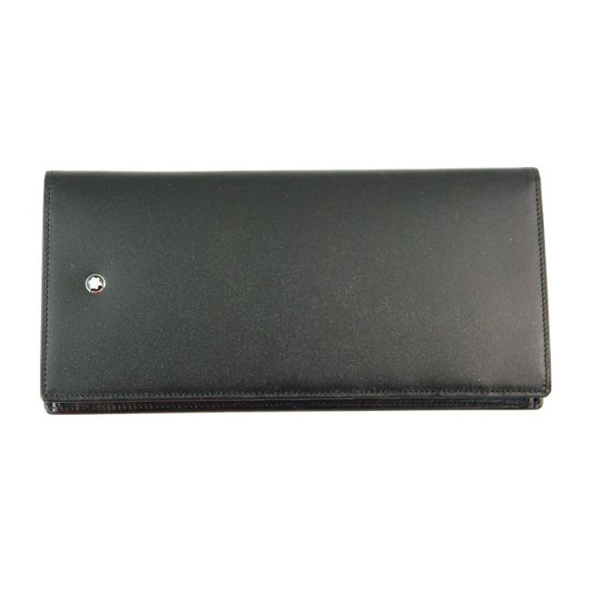 MONTBLANC モンブラン U0007165 長財布 小銭入れ付き ブラック 30655 ビルフォールド 14CC WITH ジッパーコインパース 【送料無料】