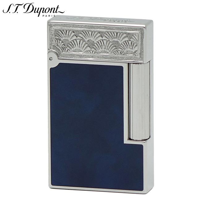 S.T.Dupont エス・テー・デュポン 016973 ZEN ガスライター 純正青漆 パラディウム 日本限定生産50個