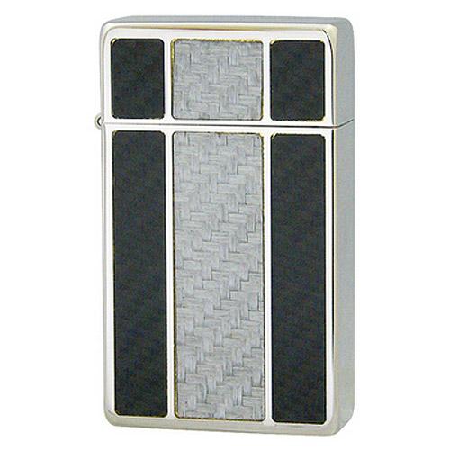 【送料無料】 SAROME SRM Crystal Finish Crystal Carbon ガスライター ダイアノシルバー クリスタルフィニッシュ クリスタルカーボン サロメ