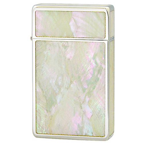 【送料無料】 SAROME SRM Crystal Finish Crystal Mother of Pearl (A) ガスライター ダイアノシルバー クリスタルフィニッシュ クリスタルマザーオブパール サロメ