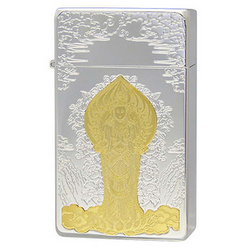 【送料無料】 SAROME SRM Miniature Plate M.P 聖観世音菩薩(A) ガスライター 仏教 神 ミニチュアプレート サロメ
