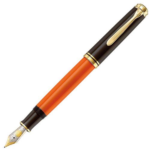 【あす楽対応】 Pelikan Souveran万年筆 M800 バーントオレンジ ペリカン スーベレーン