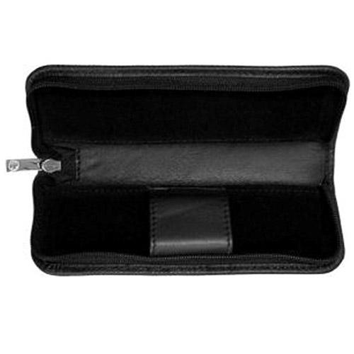 送料無料 使い勝手の良い Pelikan TGX-2 レザーケース 2本用 Leather ペリカン おすすめ Cases ブラック