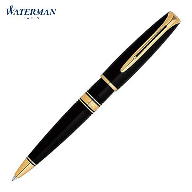 【名入れ無料】WATERMAN ウォーターマン CHARLESTON S2 233 312 エボニーブラックGT ボールペン チャールストン