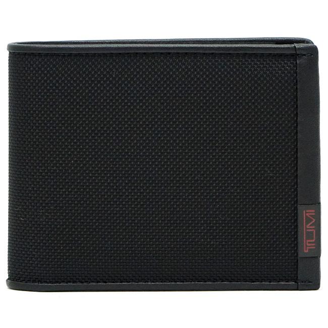 TUMI トゥミ 119230DID ALPHA SLG メンズ 二つ折り財布 ブラック グローバル・ダブル・ビルホールド 【あす楽対応】
