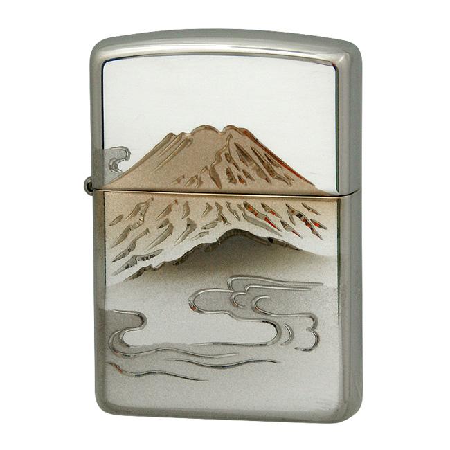 zippo ジッポ ジッポー 15 赤富士 スターリングシルバー 純銀 zippoレギュラー