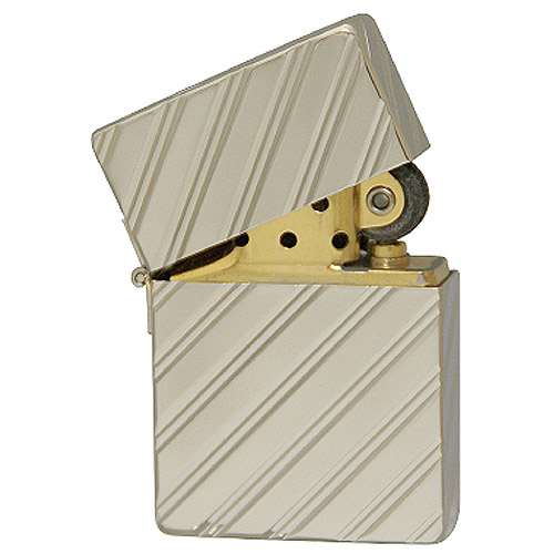 zippo ジッポ ジッポー 1935-5D/C PT 1935レプリカ Platinum Plate(G・tank) ダイヤモンドカット Diamond Cut 1935 Replica