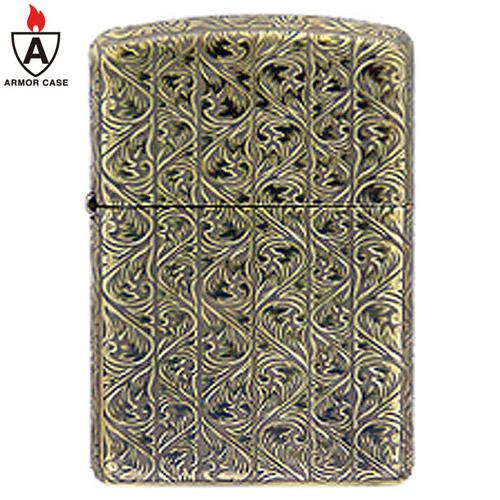 zippo ジッポ ジッポー ライター ANTIQUE ARABESQUE (B) 5面連続深彫りエッチング Brass Oxidized アンティーク アラベスク アーマーケース