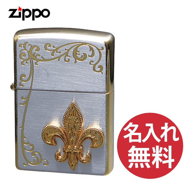 【名入れ無料】zippo ジッポ ジッポー シークレットガーデン TSG-F ユリ 紋章 レギュラー