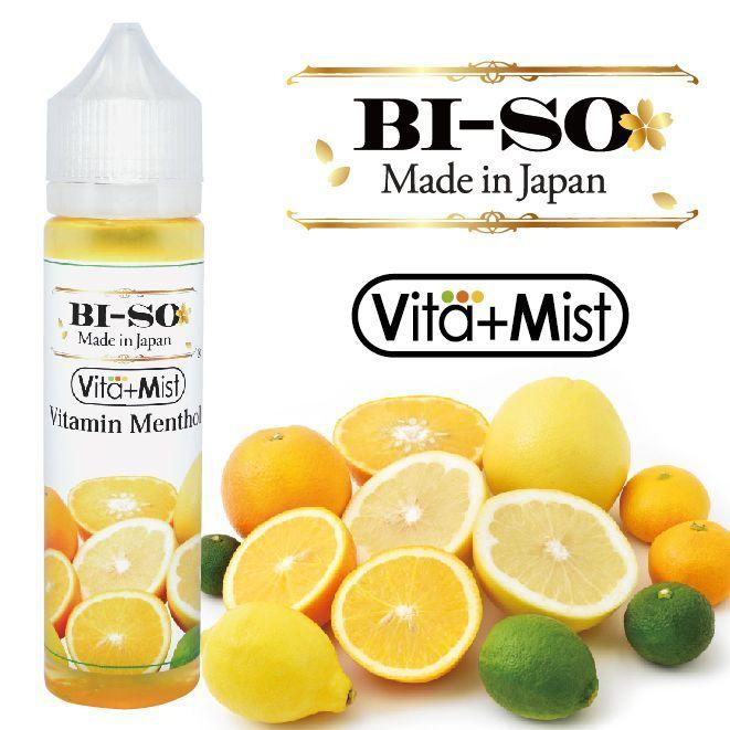 国産 電子タバコ 入手困難 リキッド Vita Mist ビタミンメンソール 60ml BI-SO 驚きの価格が実現