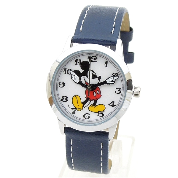 Disneyディズニー腕時計復活ミッキーマウスとミニー腕時計 レディース ポスト投函  ! 楽天カードで ポイント 5倍  プレゼント お中元 ギフト にもビアリッツ