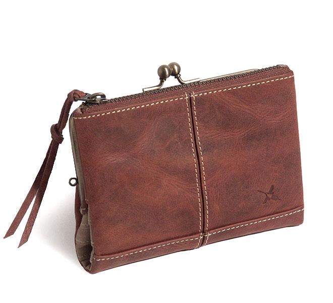 【クーポン対象】Ain Soph/アインソフ レザー財布(2つ折り)fs04gm
