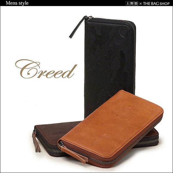 "◎ for Creed and creed ""creed × YAMATOU ' leather wallet (zip around) fs04gm"