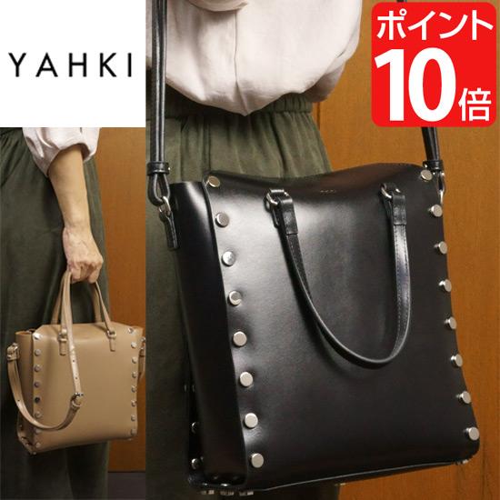 YAHKI/ヤーキ 2WAYトートバッグ