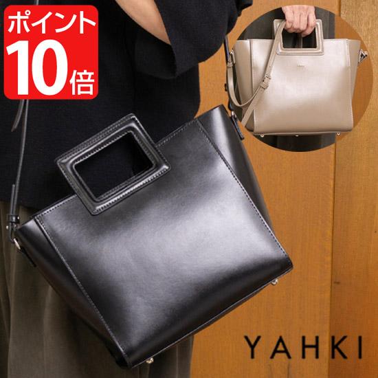 【クーポン対象】 【送料無料】YAHKI/ヤーキ バッグ財布 【クーポン対象】 YAHKI ヤーキ 2WAY トートバッグ