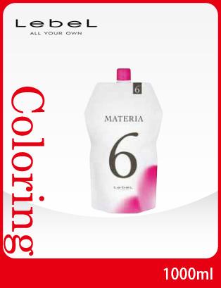 bibi: LebeL MATERIA OXY W6% NET 1,000 ml (oxidation type hair dye) (weight:1100g) | Rakuten ...