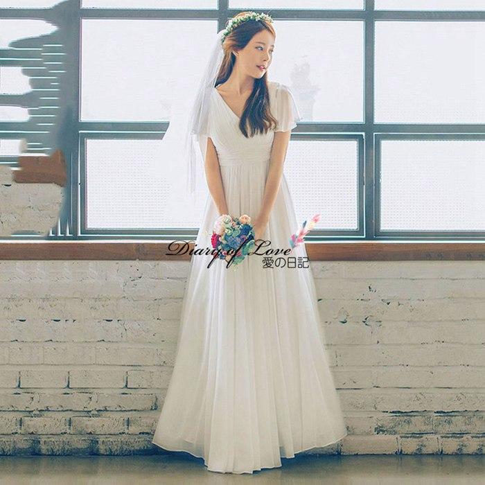 ウェディングドレス 二次会ドレス 白ワンピース wedding dress フレア袖 ウエディング ワンピース スレンダータイプAライン 編み上げ 前撮り 後撮り 披露宴 結婚式 演奏会 発表会 海外挙式ドレス【XS~XL】花嫁ドレス ウエディングドレス 2020夏新作