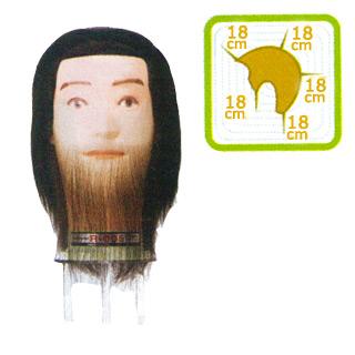 【送料無料】 理容国家試験用メンズウィッグ R-005 【敬老の日 ギフト プレゼント】