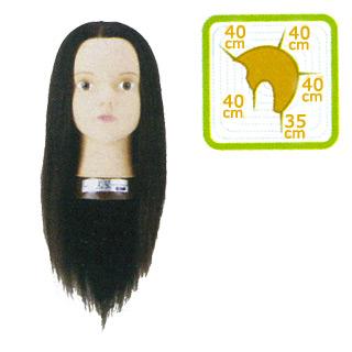 【送料無料】 黒髪モデルウィッグ ロング 【敬老の日 ギフト プレゼント】