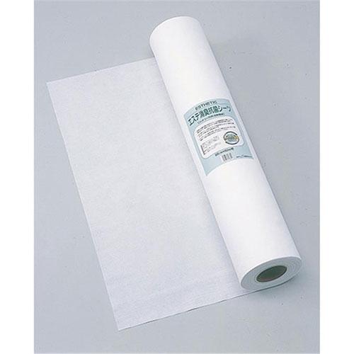 エステ消臭抗菌シーツ 80cm×60m巻 特殊消臭効果を持つセラミックを織り込んだエステ専用シーツ