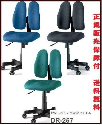 デュオレスト DR-257 オフィスチェア肘付き DUOREST 正規販売保障 ビシネスシリーズ【回転チェア/オフィスチェア/オフィスチェアー/デザイン/イス/チェア/椅子/chair/パソコンチェア/おしゃれ】