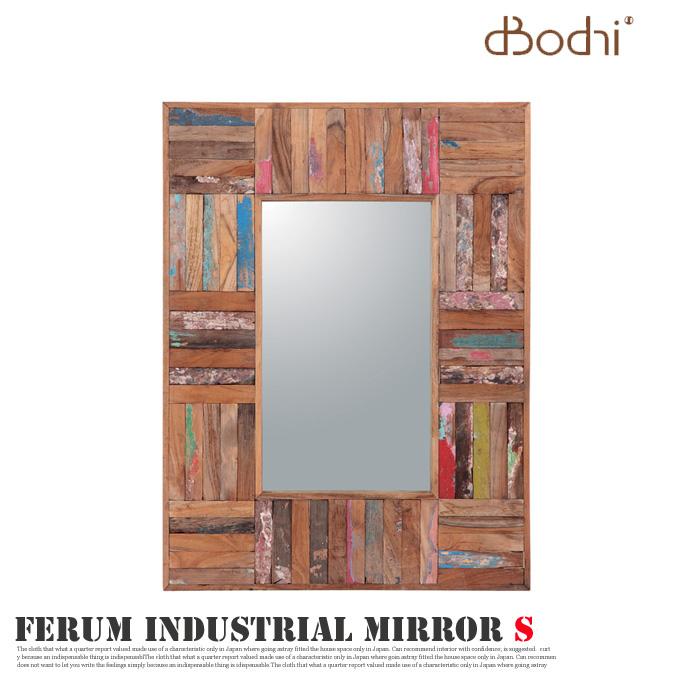 FERUM INDUSTRIAL MIRROR S(フェルム インダストリアル ミラーS) 110882 d-Bodhi(ディーボディ) 送料無料