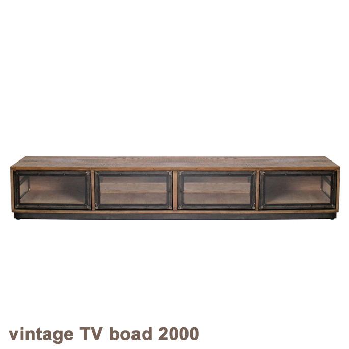 a.depeche アデペシュ vintage TV boad 2000(ヴィンテージテレビボード2000)送料無料