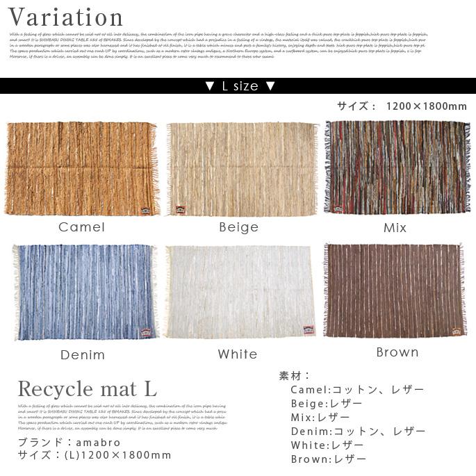 amabro/リサイクルマット