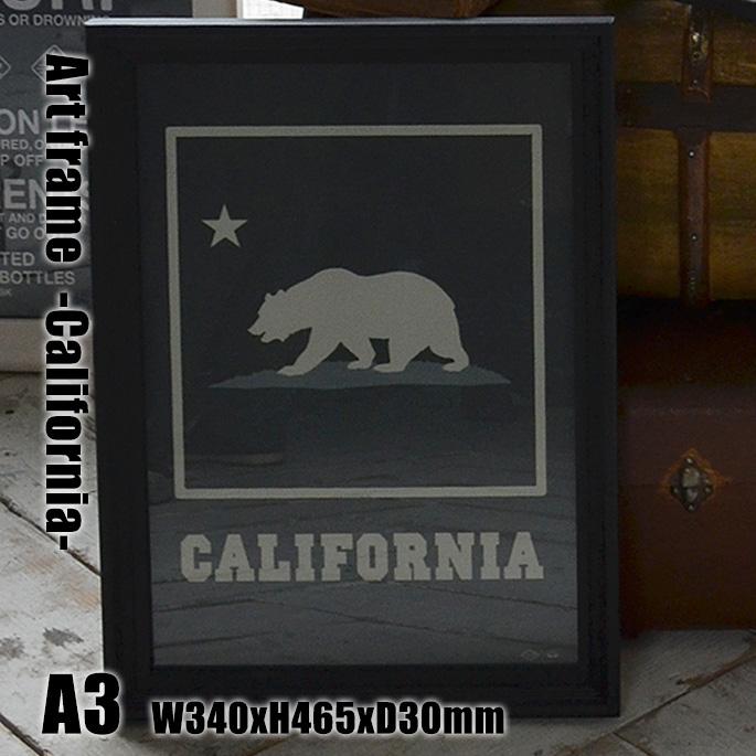 Art Frame California(アートフレーム カリフォルニア) A3 size 黒フレーム TR-4197(CA) ARTWORKSTUDIO(アートワークスタジオ) 送料無料