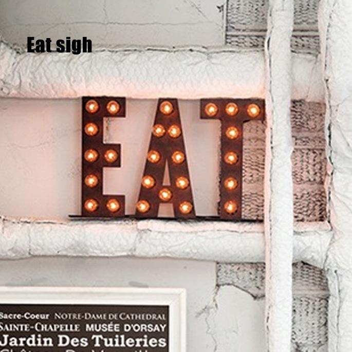 サインランプ アートワークスタジオ Sign Lamp EAT(サインランプ イート) AW-0401V 送料無料 ARTWORKSTUDIO