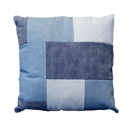 DenimCushion (denim cushion) BIMAKES (Vimax) Patchwork-DENIM (patchwork  denim) support