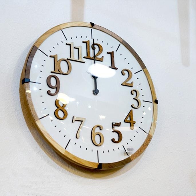 Tiel(ティール)掛時計(WALL CLOCK) CL-9706 インターフォルム(INTERFORM)