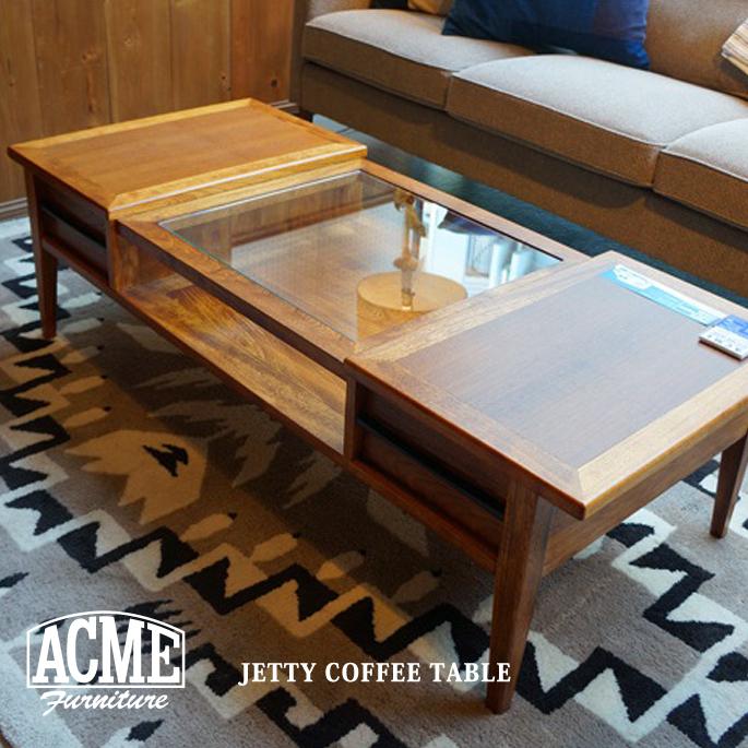 アクメファニチャー ACME Furniture JETTY 大好評です COFFEE ジェッティーコーヒーテーブル 超激安特価 送料無料 TABLE