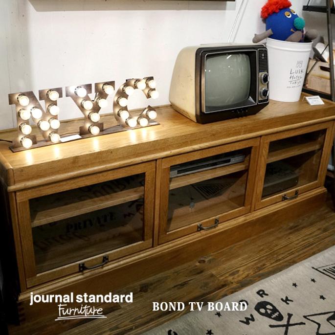 ジャーナルスタンダードファニチャー journal standard Furniture BOND TV BOARD(ボンドテレビボード) 送料無料