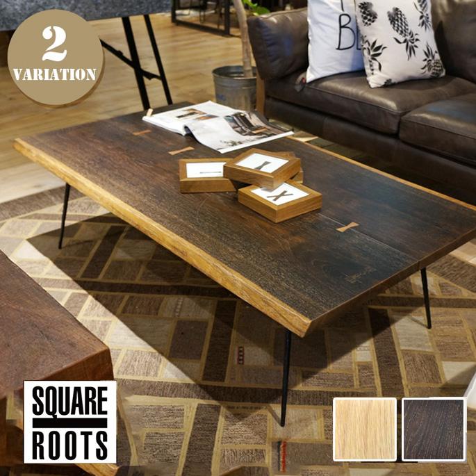 ネクサ コーヒーテーブル(NEXA COFFEE TABLE) スクエアルーツ(SQUARE ROOTS) 122625・123035 カラー(SEARED OAK BK LEG・RAW OAK BK LEG) 送料無料