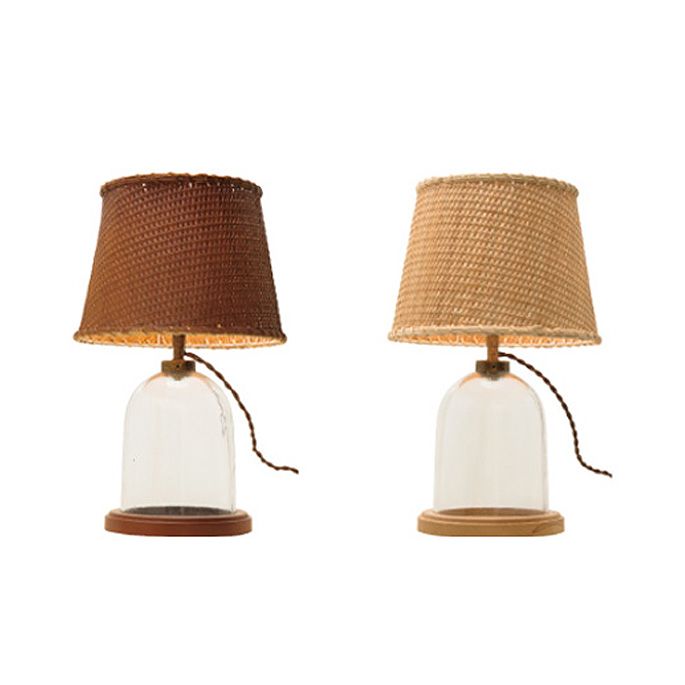 Terrarium Lamp(テラリウムランプ)テーブルライト デスクライト LT-1460/LT-1461/LT-1462 インターフォルム(INTERFORM) 全2カラー(ナチュラル・ブラウン)