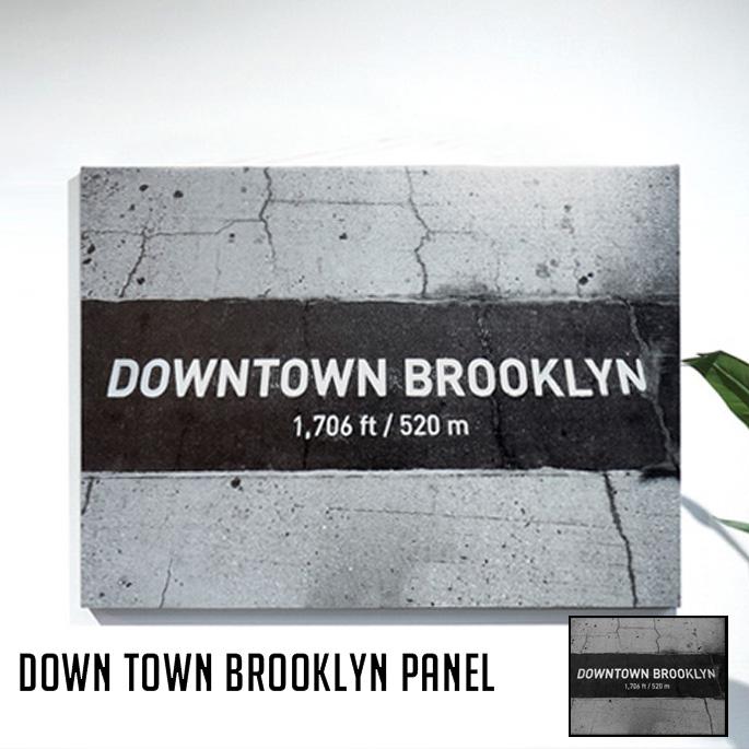 Down Town Brooklyn PANEL(ダウンタウンブルックリンパネル) IAP52278 アートフレーム
