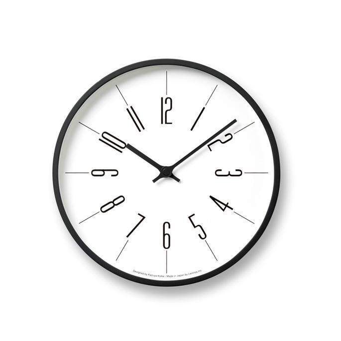 掛け時計 電波時計 ウォールクロック 送料無料/新品 デザイン時計 壁掛け時計 北欧 西海岸 おしゃれ 新築祝い 引っ越し祝い 結婚祝い 格安 木製 Lemnos A アラビック 時計台の時計 ギフト Arabic プレゼント KK13-16 レムノス