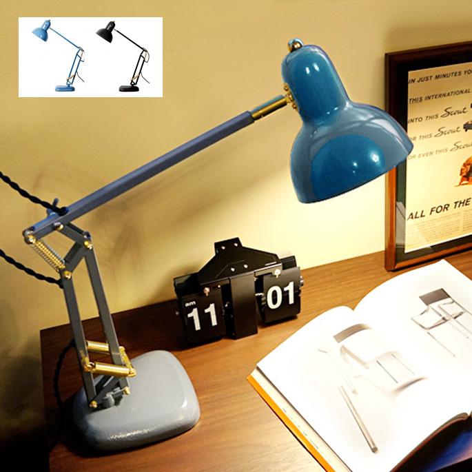 CALTON DESK LAMP(カールトンデスクランプ) FP-006 HERMOSA(ハモサ) 送料無料 全2色(BK、VGY) テーブルスタンド デスクライト デスクライト 卓上ライト 40W電球付き 卓上照明