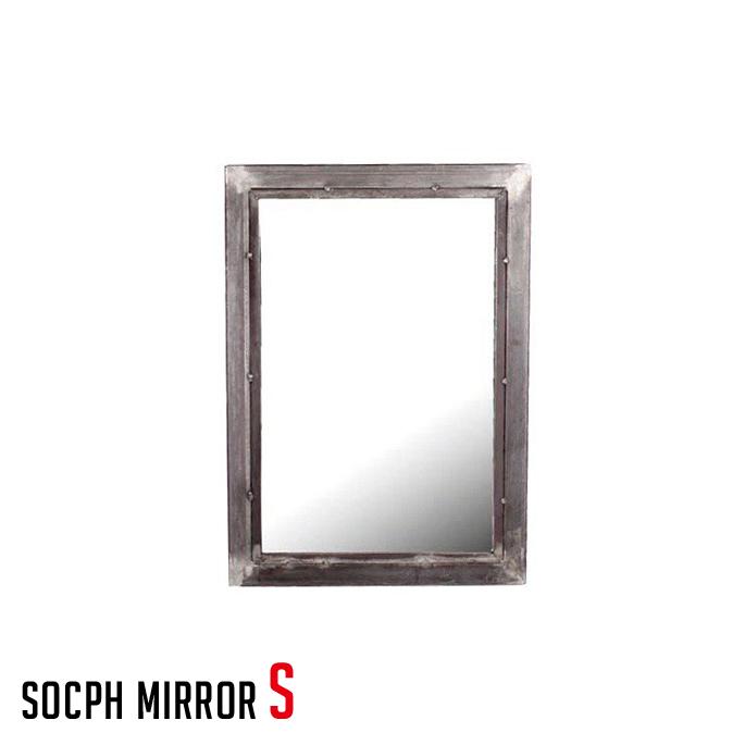 ソコフ ミラー socph mirror S SCP-MRO-S アデペシュ a.depeche 鏡 スチール 西海岸 アメリカンビンテージ 送料無料