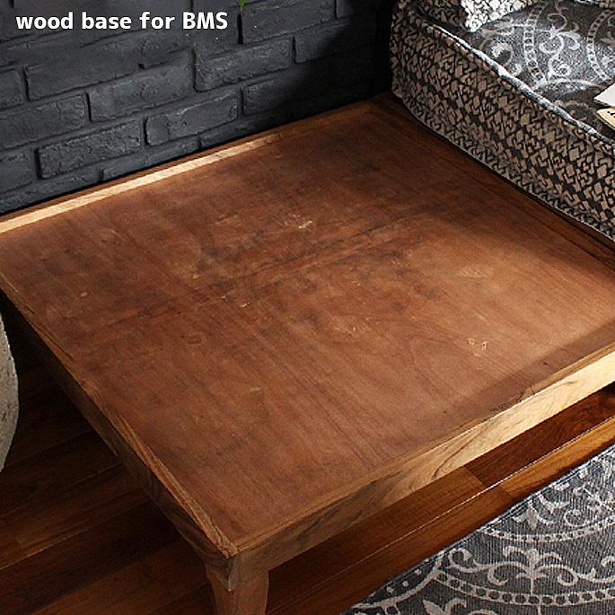 ウッド ベース ブロックマルチ用台座 wood base for BMS アデペシュ a.depeche BMS-WDB-001 アカシア一人掛け システムソファ 台座 フレーム 木製 ウッド オットマン ヴィンテージ